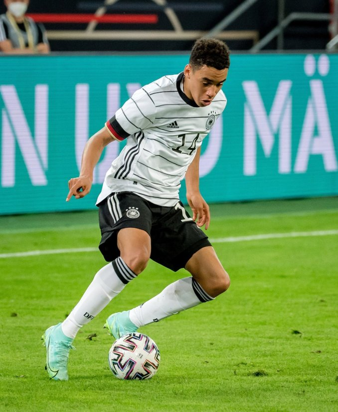 Germany trashed Latvia in a 7-1 win yesterday night