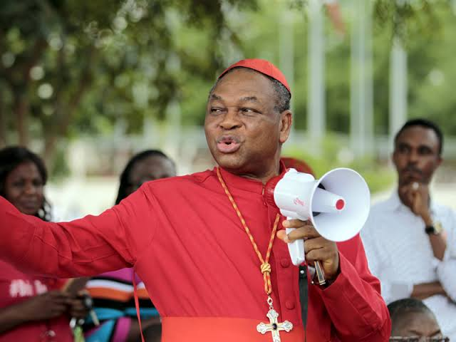 """""""Nigerians don't take actions, all they do is complain"""" Cardinal John Onaiyekan shades Nigerians"""