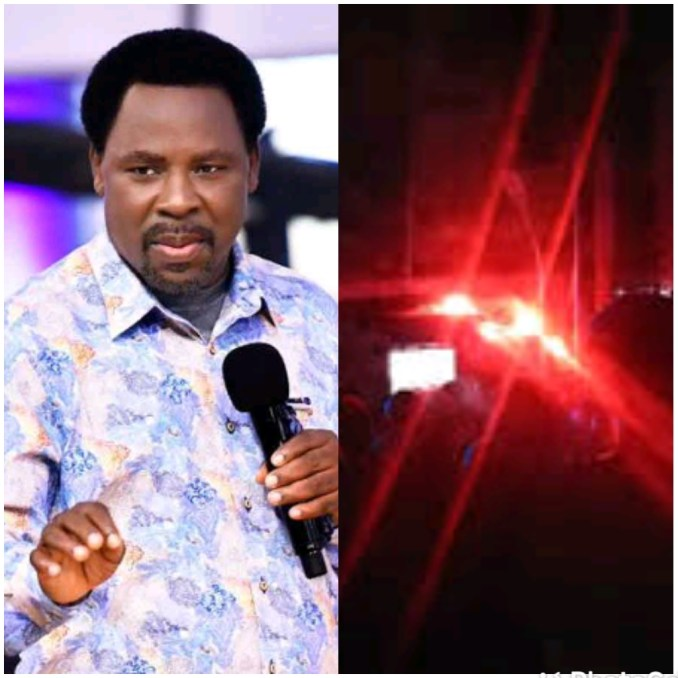 Mixed response as hearth breaks out at SCOAN at some stage in the candlelight carrier of Late Prophet TB Joshua