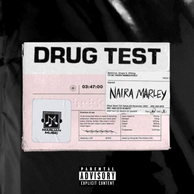 """Mp3 download: Naira Marley - """"Drug Test"""" (Prod. by Rexxie)"""
