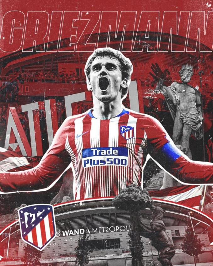 Antonio Griezmann returns to his former membership Athletico Madrid on a lengthy mortgage deal