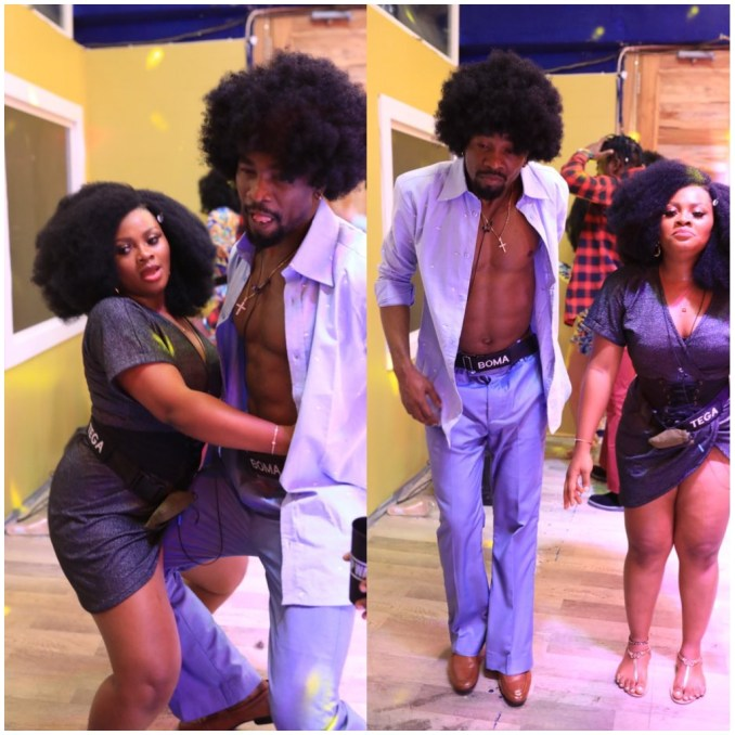 """BBNaija: """"Shebi nah me get the cash and Fame?"""" Tega displays what she will do if her husband ends their marital union"""