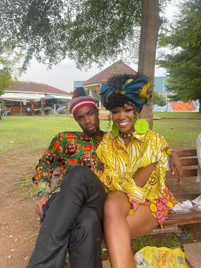 Reactions as Neo shares his loved up picture with girlfriend Vee
