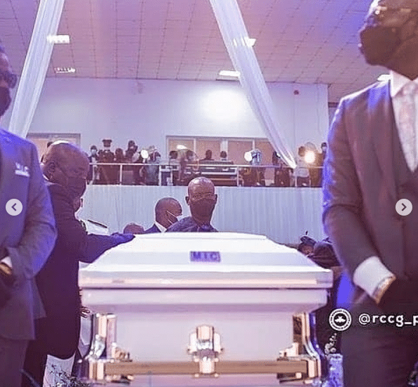 Photos from the funeral service of Pastor Adeboye's late son, Dare Adeboye