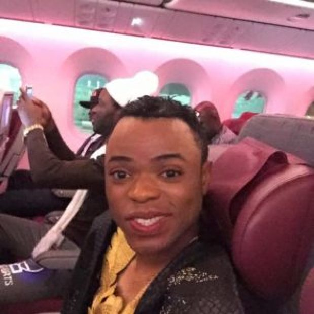 Pictures of Bobrisky when he was man