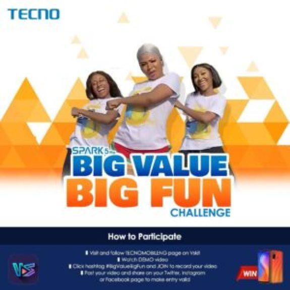 Win Spark 5 Pro in Big Value Big Fun dance challenge