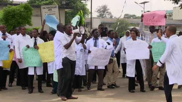 Doctors in Lagos Embarks on Three Days Warning Strike