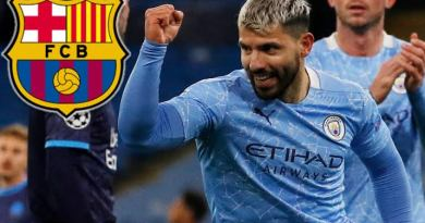 Sergio Aguero, Manchester City Striker, Signed a Two-year Contract with Barcelona