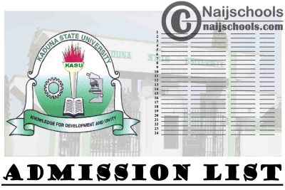 Kaduna State University (KASU) First Batch Admission List is Now Out on JAMB CAPS | CHECK NOW