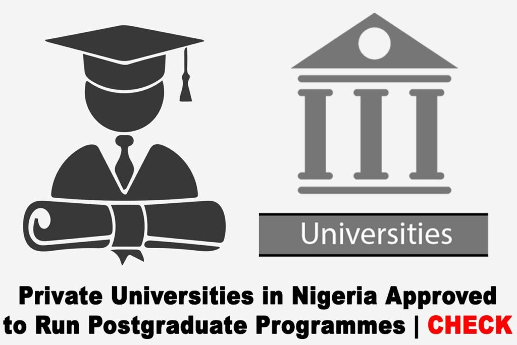 List of Private Universities in Nigeria Approved to Run