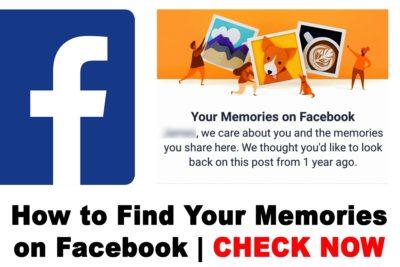 How to Find Your Memories on Facebook | Facebook Memories Categories