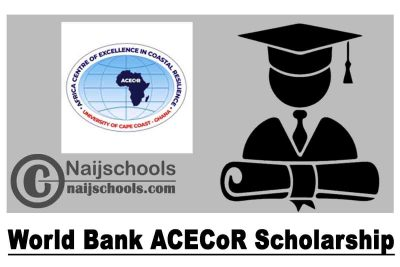 World Bank ACECoR Scholarship 2020/2021 to Study at the University of Cape Town | APPLY NOW