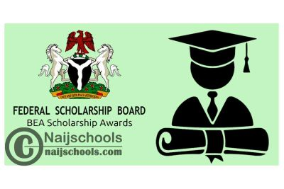 Federal Scholarship Board (FSB) Bilateral Education Agreement (BEA) Scholarship Awards 2020/2021 for Nigerians to Study Overseas | APPLY NOW