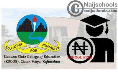 Kaduna State College of Education (KSCOE), Gidan-Waya, Kafanchan Notice to Students on Payment of School Fees | CHECK NOW