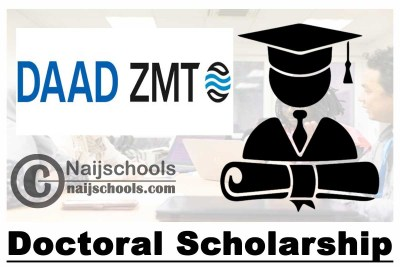 ZMT DAAD Doctoral Scholarship 2021/2022 for Scholars from Sub-Sahara Africa | APPLY NOW