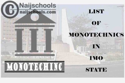 Full List of Accredited Monotechnics in Imo State Nigeria