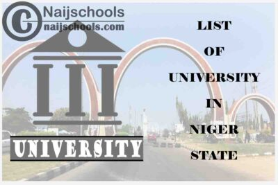 Full List of Federal, State & Private Universities in Niger State Nigeria