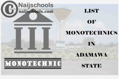 Full List of Accredited Monotechincs in Adamawa State Nigeria