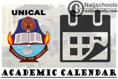 University of Calabar (UNICAL) Revised Academic Calendar for 2019/2020 Academic Session | CHECK NOW