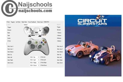 Circuit Superstars X360ce Settings for Any PC Gamepad Controller | TESTED & WORKING
