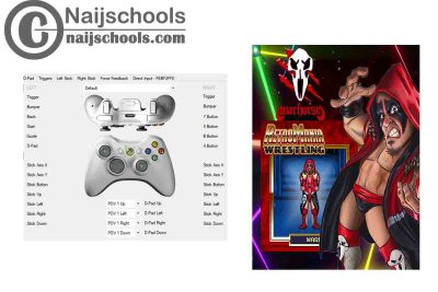 RetroMania Wrestling X360ce Settings for Any PC Gamepad Controller | TESTED & WORKING
