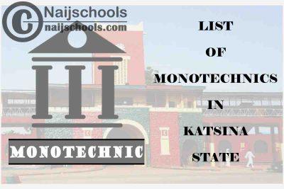Full List of Accredited Monotechincs in Katsina State Nigeria
