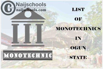 Full List of Accredited Monotechnics in Ogun State Nigeria