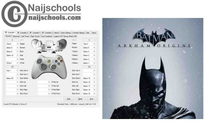 Batman: Arkham Origins X360ce Settings for Any PC Gamepad Controller | TESTED & WORKING