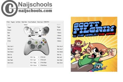 Scott Pilgrim vs. The World: The Game X360ce Settings for Any PC Gamepad Controller | TESTED &WORKING