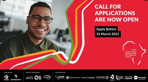 The Africa Young Innovators for Health Award (Financial Support of $75,000)  | Opportunities For Africans