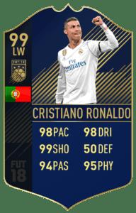 Криштиану Роналду, Команда года FIFA 18