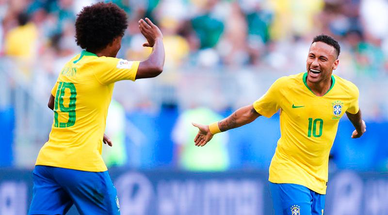 Бразилия обыгрывает Мексику в 1/8 финала ЧМ-2018