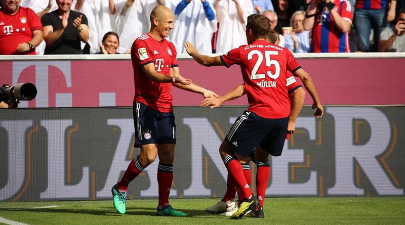 Бавария — Байер. Обзор центрального матча 3-ого тура чемпионата Германии.