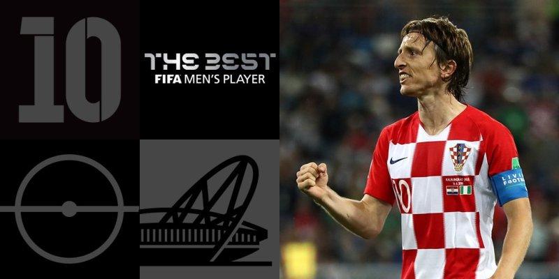 Лука Модрич получил приз лучшего игрока года FIFA