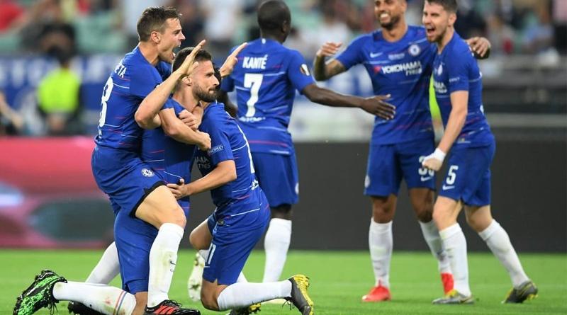 Челси громит Арсенал в финале Лиги Европы