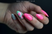 easy rose nail art lacquer
