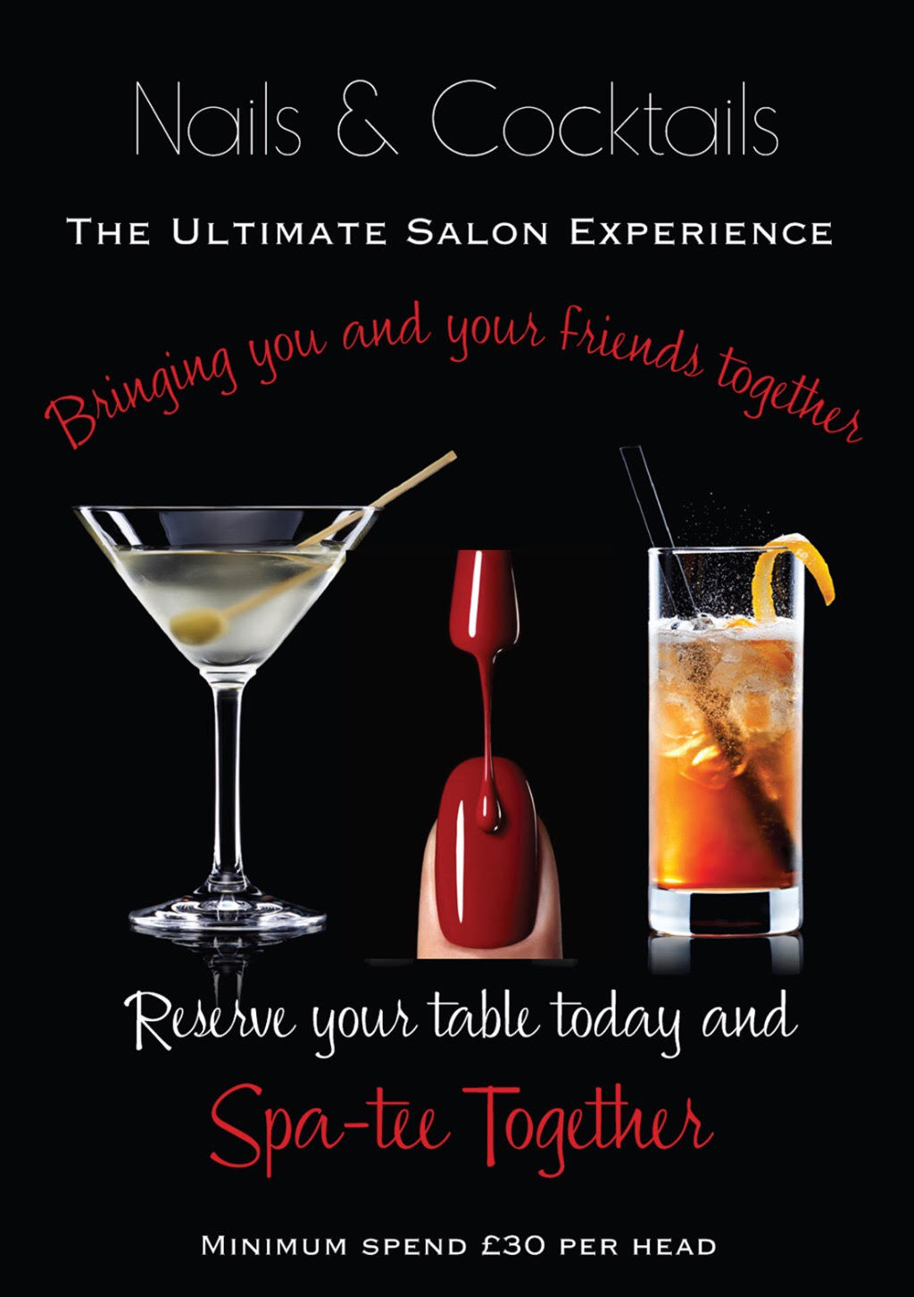 Nails Amp Cocktails Offer The Nail Amp Body Boutique Reigate