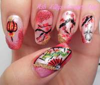 Chinese New Year Nail Art Contest Entries ...