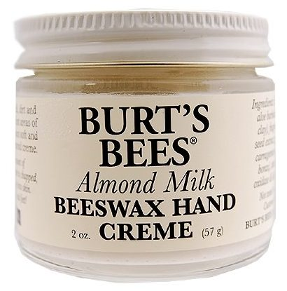 Burts Bees Almond Milk Beeswax Hand Cream For Nails Care
