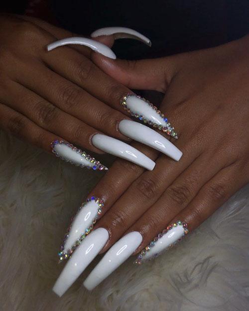 Long White Nails : white, nails, 11-long-acrylic-nails-19022020124711, Designs