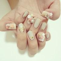Japanese nail art inspired nail art | Nail Art'scape
