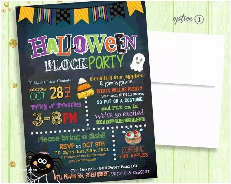 block party invitation best