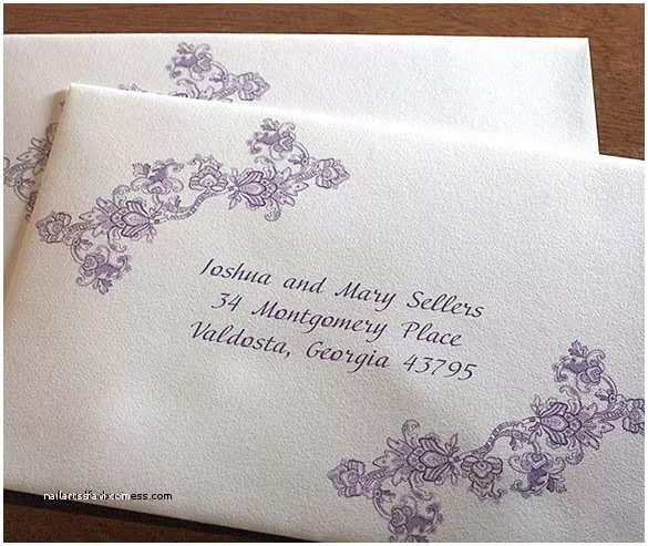 Wedding Invitations Envelope