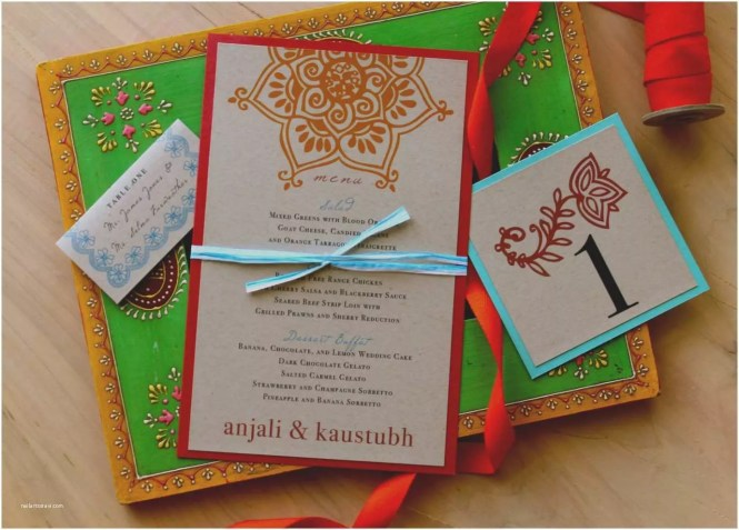Indian Wedding Invitations Trend Modern
