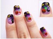 night sky halloween nails nailbees