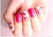 cherry nail art design nailbees