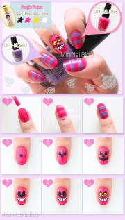 cheshire cat nails nailbees