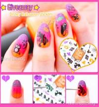 Disney Halloween Nail Art | nailbees