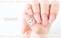 Cat Princess Nail Art   nailbees