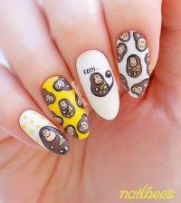 Monkey Nail Art   nailbees